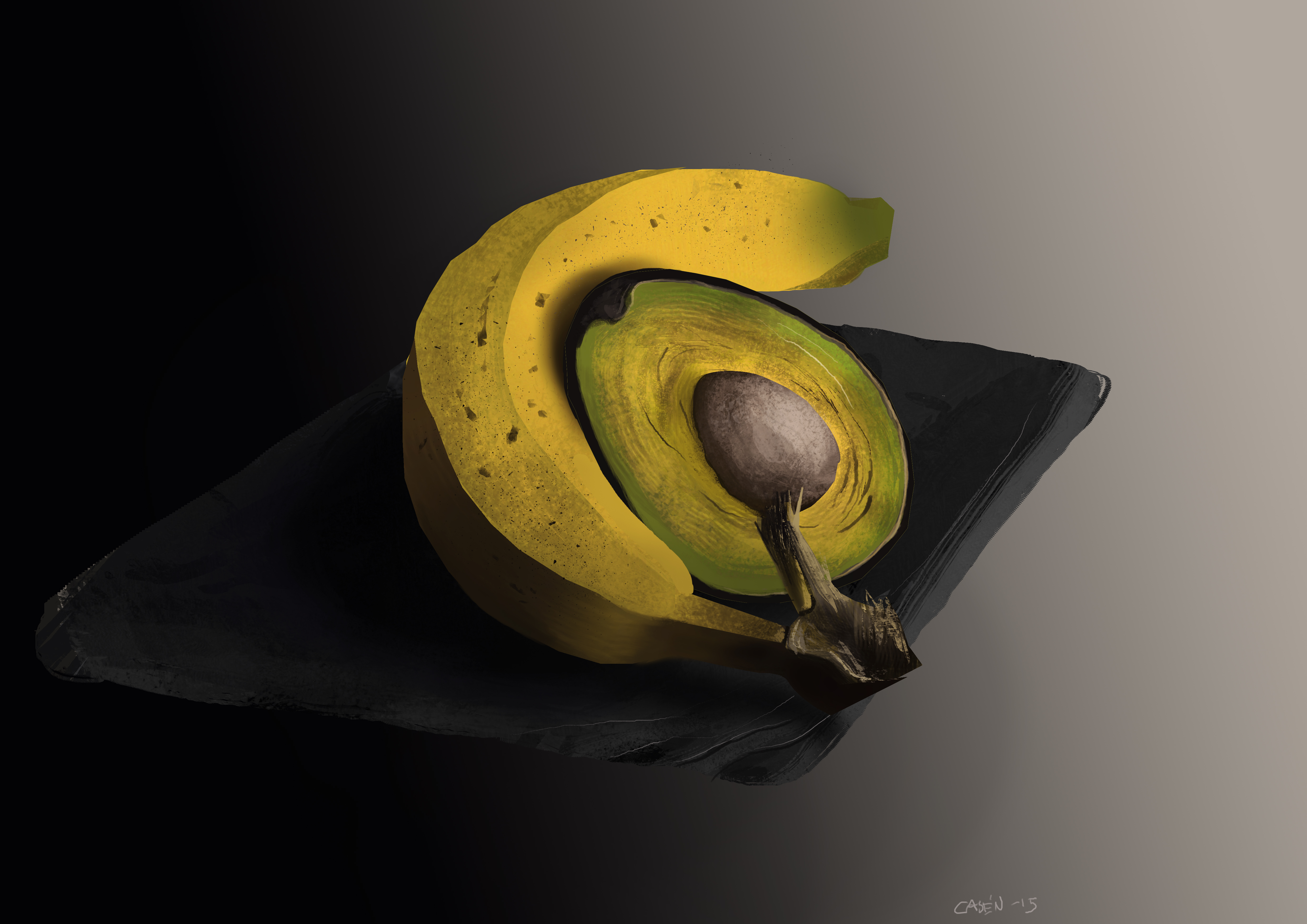 fruit_study_banana_avocado